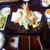 ほしごえの里 - 料理写真:かぐや姫御膳(讃岐夢豚一口かつ、天使の海老フライ、季節の野菜サラダ等)