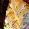大翔 - 料理写真:自家製豚バラ肉チャーシュー入りの出し巻き卵。平日の昼間限定のプレミアムセット920円に付きます。