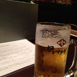炉端美酒食堂 炉とマタギ - ビール