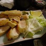 ベッチャーの胃ぶくろ - 軍鶏のモモ焼き