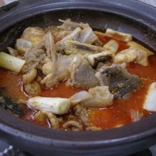相模屋 - 料理写真:あんこうの「どぶ汁」という鍋
