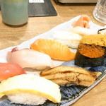 磯丸水産 - おまかせ寿司10貫¥1230☆♪