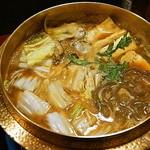 かき末 - 牡蠣の土手鍋