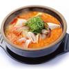 韓丼 - 料理写真:口当たりの良いふわっとした豆腐と野菜や魚介・肉などを一緒に煮込んだスン豆腐♪