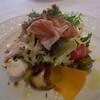 ラルカンシェル - 料理写真:ツブ貝とワレット豆&生ハムのデリス仕立て①