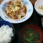 エビスヤ - バラ肉焼き定食
