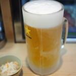 つく志 - 950『生ビール(中) (800ミリリットル)』2015.1