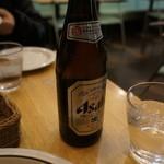 若木屋 - 追加瓶ビール