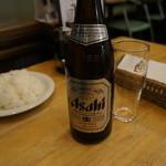 若木屋 - 瓶ビール