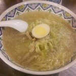 中国ラーメン揚州商人 - 豚肉スープのこくネギラーメン