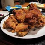 三厨 - 【ランチ】 鶏の唐揚げ定食 \750 もも肉でした