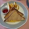 アンビルハウス - 料理写真:ホットサンドイッチ