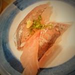 駿河湾朝獲れ回転寿司のぶちゃん - 鯵