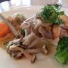 ウィステリア - 料理写真:美星豚のグリル、ノルマンディー風