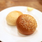 グリックグリル - ブッフェのパン '15 1月上旬
