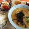大黒屋ラーメン - 料理写真:ラーメン定食(800円)