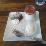 ピッツァ&ビストロ ジーノ - ランチセット(デザート盛り合わせ)