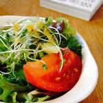 カクルル - ランチのサラダ