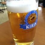 東京湾フェリー内 売店 - 久里浜港の店内   生ビール500円