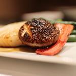 柿安 - 料理写真:網焼きのやさい
