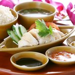 シンガポール海南鶏飯 - ここに来たら忘れちゃいけないチキンライス!!!
