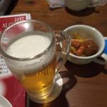 バーニーズダイニング - ビールで乾杯♪
