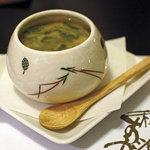 和食すがわら - 雲丹の蒸し物