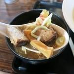 三ツ矢堂製麺 - つけめんの具