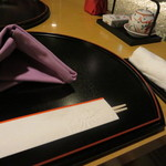 日本料理 彩 - セッティング