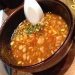室壱羅麺 - 昼のつけ麺 つけ汁