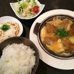 牛庵 - ビーフカツとじ定食