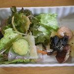 卵's工房 - レディースセット サラダ、前菜