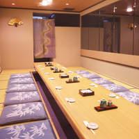 10~20名様向け掘りごたつ完全個室。ご宴会やご会食に。