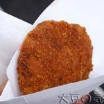 肉のサトー - 谷中メンチカツ(¥200)