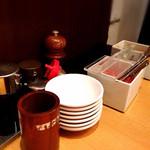 34368611 - 紅生姜、辛子高菜、ピリ辛もやし