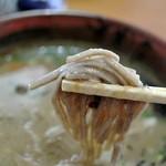 八川そば - 八川そば・蕎麦近影(2014.11)
