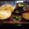 ユミマ~ル - 料理写真:天ぷら定食、600円ですよ