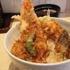 天ひろ - 料理写真:上天丼ランチ壱の揚、海老、キス、ナス、南瓜、ししとう
