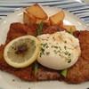 エリカ - 料理写真:仔牛肉のカツレツ ウイーン風