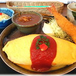 でみぐら亭 - 洋食セット(ランチ¥997)