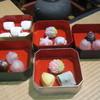 川村屋賀峯総本店 - 料理写真:四季折々の上生菓子