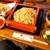 瓢亭 - 料理写真:天ぷら付き 夕霧そば