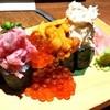 海鮮炉ばた 隠れ家 - 料理写真:海鮮のっけ寿司