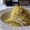 アロマフレスカ - 料理写真:白魚と渥美半島産キャベツのスパゲティからすみ風味