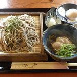 こけし庵 - 料理写真:鴨ざる