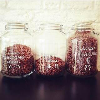焙煎したての珈琲豆100g〜販売もしております