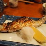 魚がし料理佃喜知 - いわし焼き