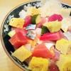 なるかわ - 料理写真:ばらちらし寿司¥1,000