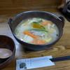 新次亭 - 料理写真:かぼちゃほうとう(750円)