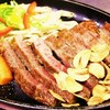 鉄板焼 屯 - 料理写真:和牛サーロインステーキです。程の良い霜降りの味わい深い美味しいお肉です。